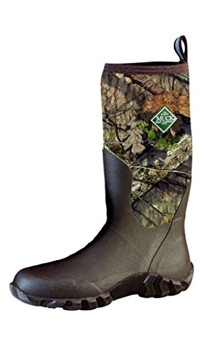 Muck Boot Men's Woody Blaze Cool Waterproof Rubber Boots Mossy Oak Country M11 - The Stores Oaks