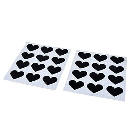 eDealMax PVC del modelo del corazón Cafetería vidrio de la ...