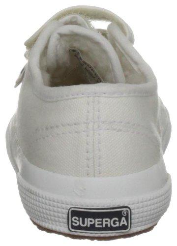 Superga Cobinvj - Zapatillas de lona para niños Blanco