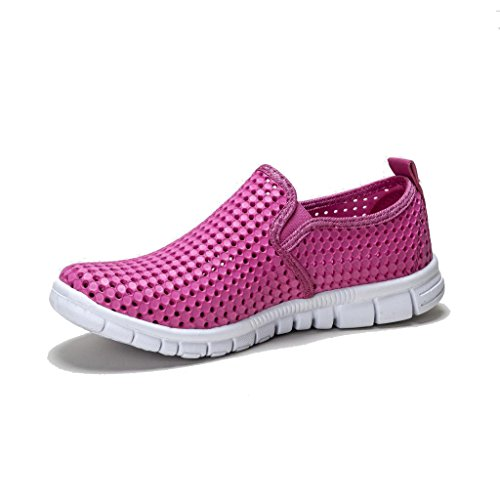 Memory Pink Ladies Loafer HOLEES Foam Choose Lightweight and Original to Shoes Colours On Various Womens Slip Sizes 8x8wHaqEt