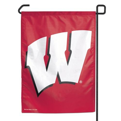NCAA Wisconsin Badgers Garden Flag, 11