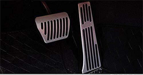 LPQSY Copriscarpe Pedali Freno for Auto Antiscivolo Ad Alte Prestazioni for BMW X1 E87 E46 E90 E92 E93 1 3 Serie Pedane Pedaliera