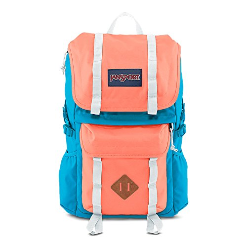 JanSport Javelina Backpack - Coral Peaches/Mammoth Blue