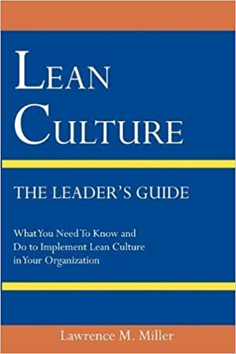 Book Lean Culture - The Leader's Guide