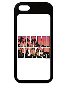 TooLoud Miami Beach - Sunset Palm Trees iPhone 5 / 5S Grip Case