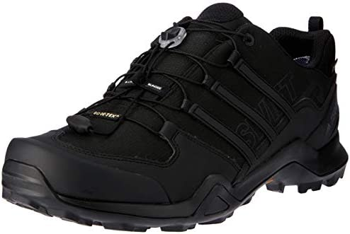 Details about adidas Terrex Swift GTX Low Walking Trainers Mens Black Outdoor Hiking Shoes