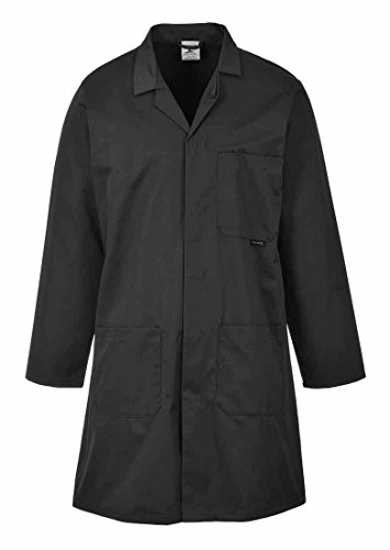 Warehouse Multiple Noir 2852lge Nvy Large pockets Ref Coat Hygiene Navy amp; Vented Portwest BxFAIwEq