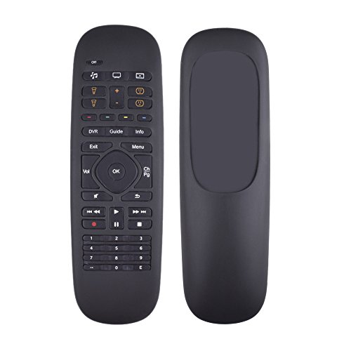 Silicone Protective Case Cover for Logitech Harmony Companion Remote/Logitech Harmony Home Control Case-Black