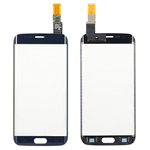 Front Cover Touch Screen Digitizer Glass Panel For Samsung Galaxy S6 edge G9250 G925 G925F (NO LCD)(Blue) by TheCoolCube