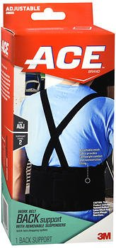 emoval Suspenders One Size, Pack of 5 ()