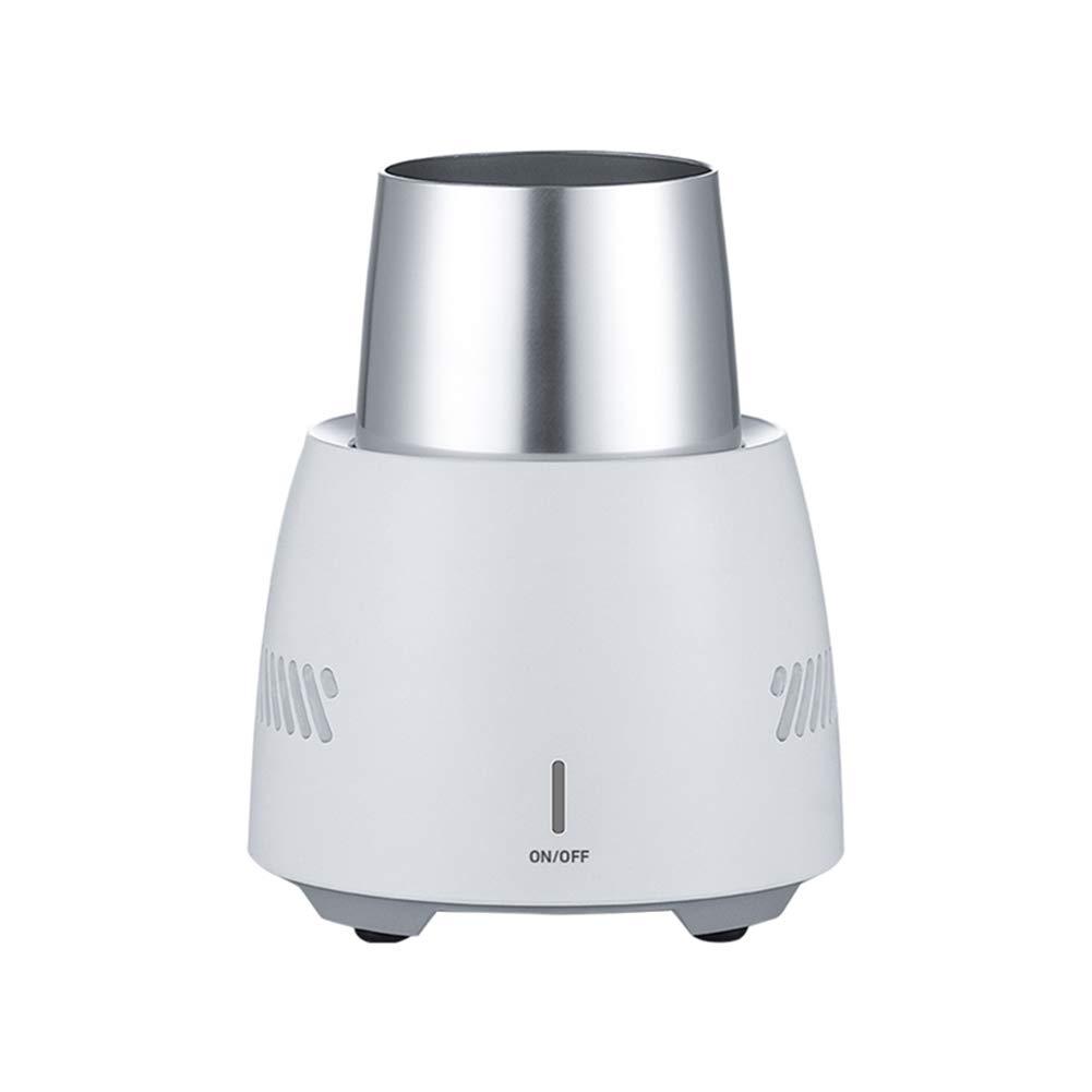 HUBI Car Cup Cooler, Portable Smart Mini Refrigerator Fridge Cup Desktop Refrigeration Cooler Cup Fast Cooling Refrigerator Cola by HUBI