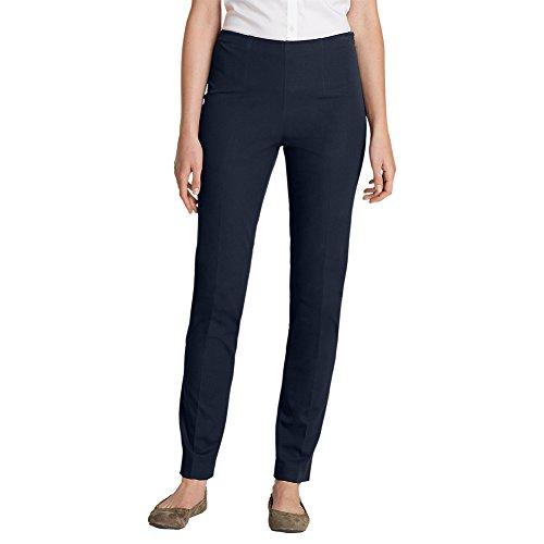 Eddie Bauer Women's Bremerton StayShape Stretch Twill Pants, Navy Petite 8 Peti ()