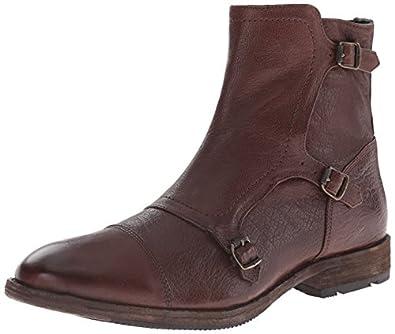 Amazon Com Frye Men S Ethan Triple Monk Boot Shoes