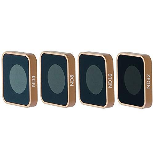 QKOO ND Filter Kit for GoPro Hero 7 Black/Hero (2018)/Hero 6 Black/Hero 5 Black - ND4, ND8, ND16, ND32 Lens Filter (4-Pack) - Neutral Density Lens Filters Set Camera Lens Accessories Outdoor Sport