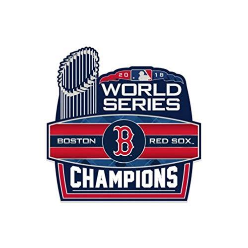 Stockdale Boston Red Sox 2018 World Series Champions Collectors Metal Pin Hat Lapel Jewelry Baseball ()