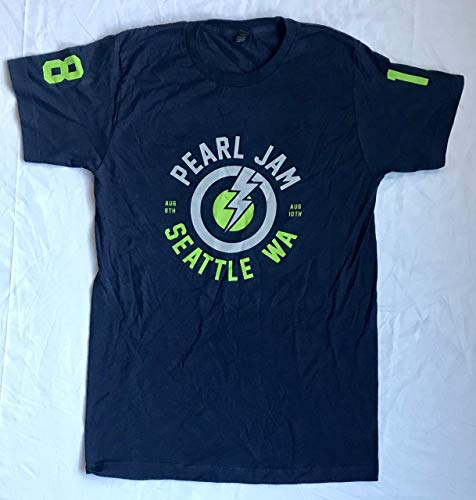 Pearl Jam seattle t shirt xxl 2018 mariners the home shows safeco field t-shirt