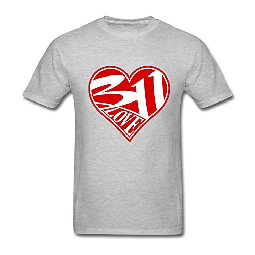 311 Band Logo Love Heart Customized T Shirts For Men