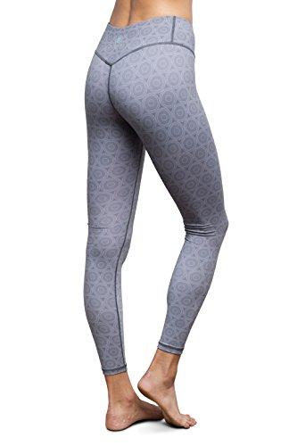 Zoetic Recycled Yoga Pants - Eco Blend, Antimicrobial, Dry Wicking, Hidden ID/Credit Card/Key Pocket, Activewear (Small, Hana) - Eco Blend