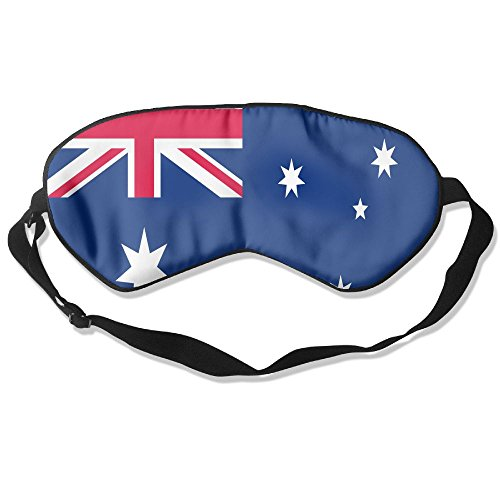 Australia Flag Adult Children Unisex Sleeping Eye Mask Natural Silk Cover With Adjustable Strap Blindfold Super-smooth - Oakleys Australia