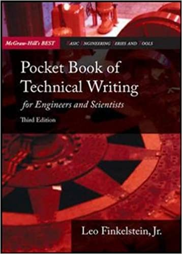 Pocket Book of Technical Writing for Engineers and