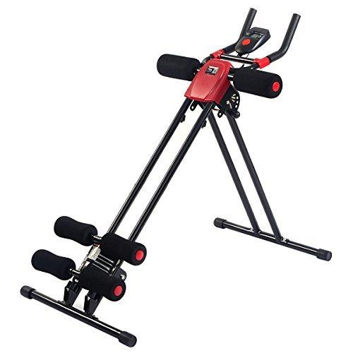 New Ab Power Fitness Abdominal Trainer 5 Minute Shaper Core Toner Exerciser