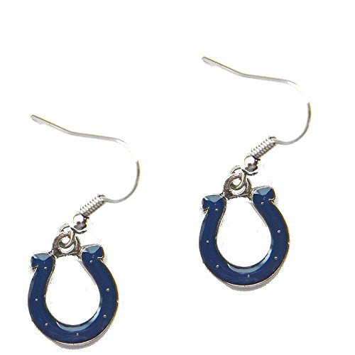 Indianapolis Colts Dangle Logo Earring Set Charm Gift