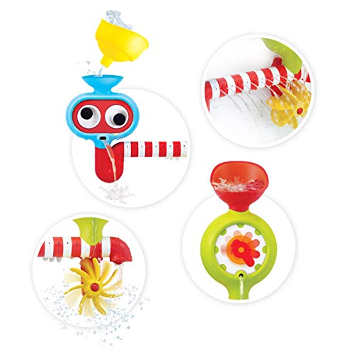 Yookidoo Bath Toy - Submarine Spray Station - Battery Operated Water Pump with Hand Shower and More by Yookidoo (Image #5)