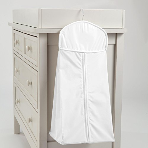 Carousel Designs Solid White Diaper Stacker by Carousel Designs