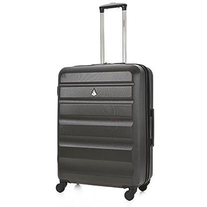 Aerolite ABS hardshell Equipaje Maleta (26, Carbón vegetal)