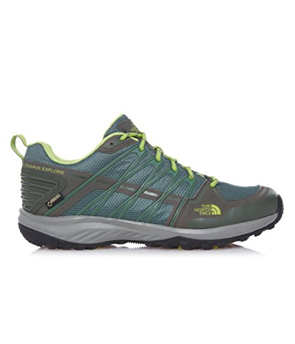 North Face M Litewave Explore Gtx - zapatos da caminata y excursionismo Hombre Verde (Duckgrn/Limegrn)