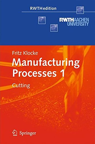 Manufacturing Processes 1  Cutting  Rwthedition