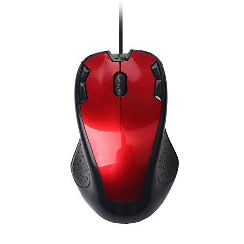 Hot !!! TIFENNY Luxury 1800 DPI USB Wired Optical Gaming Mice Mouse For PC (Cat In Costumes Commercial)