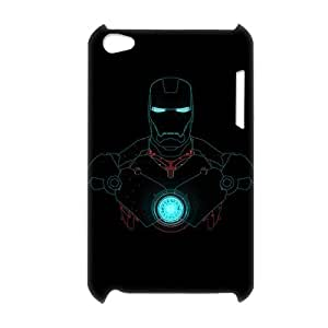 3D Print Hot US Comics Super Heroes Movie&Iron Man Arc Reactor Pattern Background Case Cover for iPod Touch 4 - Personalized Hard Back Protective Case Shell-Perfect as gift