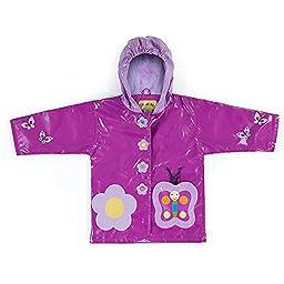 Kidorable Butterfly Raincoat (6/6X)