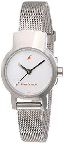 Fastrack Upgrade-Core Analog White Dial Women's Watch NM2298SM02/NN2298SM02
