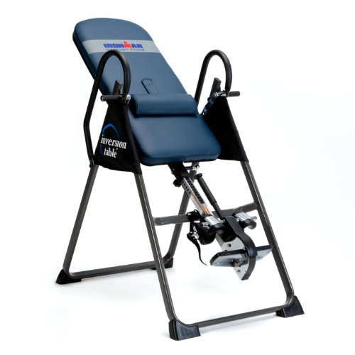 - IRONMAN Fitness Gravity 4000 Highest Weight Capacity Inversion Table with Equipment Mat