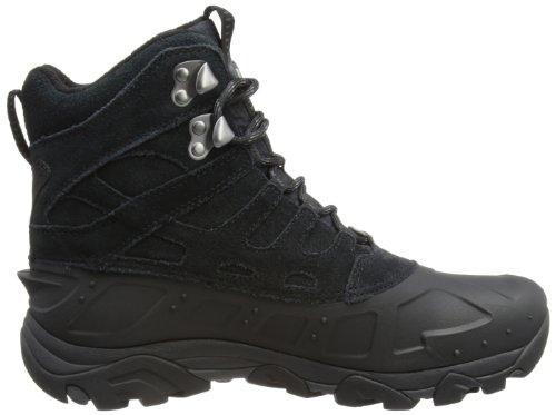Merrell MOAB POLAR WTPF Herren Trekking & Wanderstiefel Schwarz (Black)