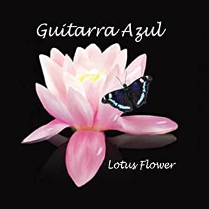 Guitarra Azul Lotus Flower Amazoncom Music
