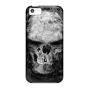 Iphone 5c Case, Premium Protective Case With Awesome Look - Skull