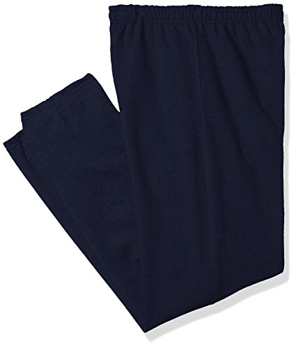 Gildan Men's Fleece Elastic Bottom Pocketed Pant Extended Sizes, Navy, XX-Large