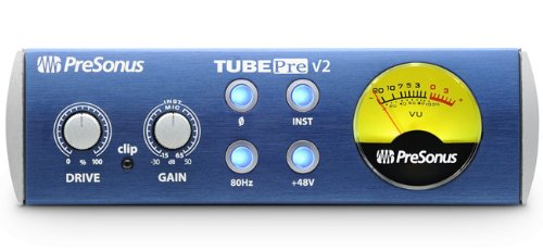 PreSonus Tubepre Single-Channel Vacuum Tube Mic Pre