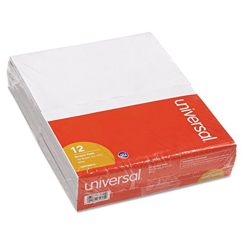 Universal Scratch Pads, Unruled, 5