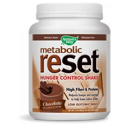 Natures Way Metabolic Reset Shake, Vanilla - 630 Gram, 4 Pack