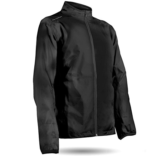Sun Mountain Cirrus Golf Jacket 2018 - Black (Medium) ()