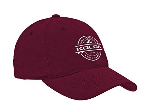 Joe's USA Koloa Surf(tm) Thruster Logo Classic Cotton Dad - Profile Cap Logo Low