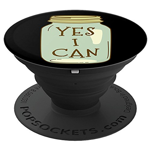 (Yes I Can Canning Season Device Accessory for Garden Farmers - PopSockets Grip and Stand for Phones and Tablets)