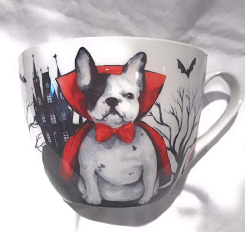 Portobello By Design Count Dogula Halloween English Bone China Mug