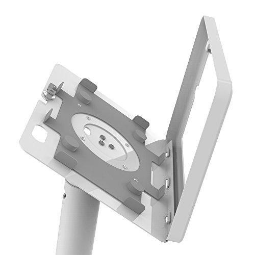 iPad Floor Stand Kiosk 360 Swivel for iPad Pro 9.7,Air 1,Air 2,iPad 5th/6th,Anti-Theft,Key Lock,Metal,White,BSF301W - Beelta by Beelta (Image #4)