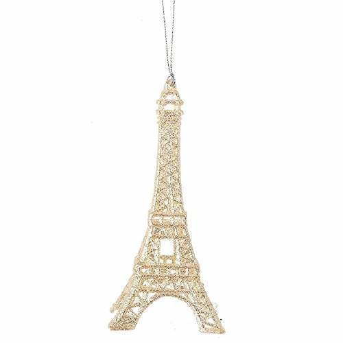 Eiffel Tower Ornament - Gift - Christmas Eiffel Tower Decor