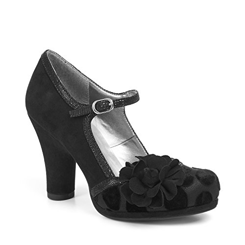 Size 5 Ruby Black 38 Hannah Shoo by wTxIxApq